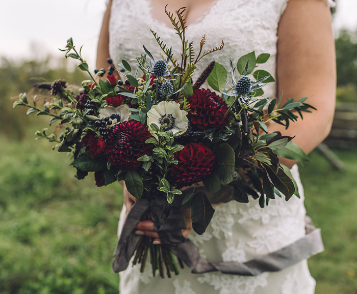 Outdoor wedding at Stonefields Heritage Farm